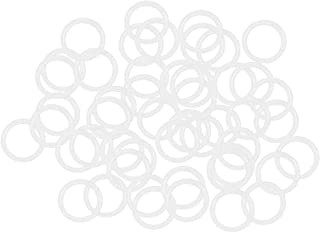 130.2mm Inner Diameter 2.4mm Width 135mm OD Round Seal Gasket Pack of 10 uxcell O-Rings Nitrile Rubber