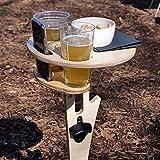 Mesa de vino plegable: con una placa plegable y una mesa de...