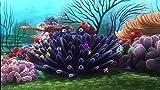 CHANGJIU- Puzzles Y Puzzles Desafiantes- Póster Buscando A Nemo Coral - Juego De Rompecabezas De Madera De 1000 Piezas para Adultos Y Niños.