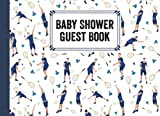 Baby Shower Guest Book: Badminton Baby Shower Guest Book, A Mother's Historical Memory Book| Humorous Funny Mamie And Babies Guestbook| By Joachim Fiedler