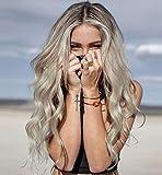 Vebonnie Flawless 613 Pelucas de aspecto realista Ombre rubio claro pelucas para mujeres...