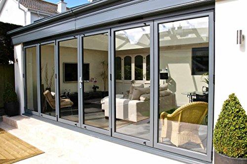Aluminium Bifold Door - 3 Panel System