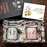 Mr and Mrs Coffee Mugs - Cadeau de Mariage pour mariée...
