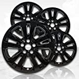 Upgrade Your Auto 17' Gloss Black Wheel Skins (Set of 4) for Chrysler 200 2015-2017 -2511