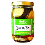 Jolene's Jar Pickles for Cocktails and Burgers Vegan Gluten Free and All Natural Made in Florida...