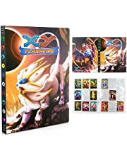 Verzamelkaartenalbum, kaartenalbum, album voor kaarten GX en EX, kaartenhouder map, boek, verzamelkaarten GX EX-kaarten album, 24 pagina's 432 kaarten capaciteit