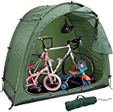 wsbdking Tienda de Bicicletas para Bicicletas, Tienda de Bicicletas, Tienda de Bicicletas de Bicicleta Resistente al Aire Libre, Carpa de Bicicletas Plegables, Negro, Negro (Color : Green)