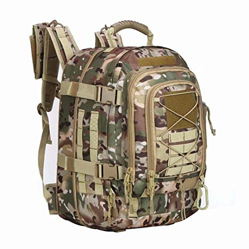 Pans Backpack for Men Large Military Backpack Tactical Waterproof Backpack for...