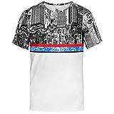 Blowhammer T-Shirt Uomo - Blu Landtee - S