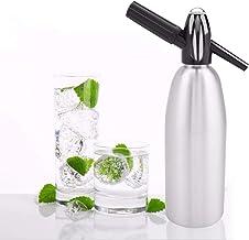 HENGGE l'eau Soda Siphon Machine À Soda Distributeur De Bricolage Dioxyde De Carbone pour Faire du Jus, Soda, Cocktail, Ma...