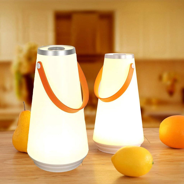 Bewegliches kampierendes Licht der Note führte hngendes Licht der Notbeleuchtung kreatives Noteninduktions-Nachtlicht der kampierenden Lampe,Weiß-2pcs