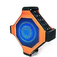 EcoxGear EcoEdge Plus Waterproof Portable Bluetooth 20-Watt Smart Speaker