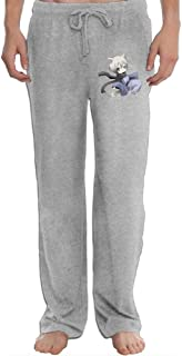 Kagerou Project Konoha Chibi Men's Sweatpants Lightweight Jog Sports Casual Trousers Running Training Pants