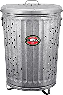 Behrens RB20 Trash Burner/Composter with Cover, 20 Gallon