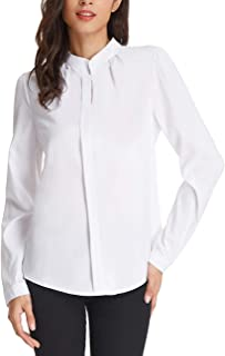 Best chinese collar blouse designs images Reviews