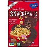 Barbara's Organic Snackimals Cinnamon Crunch Cereal,...