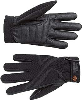 harley davidson skull gloves