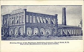 The Mayflower Publishing Company Floral Park, New York Original Vintage Postcard