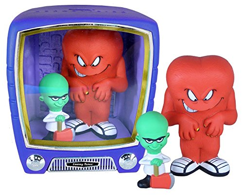 Looney Tunes - Gossamer & Mad Scientist vision TV Set