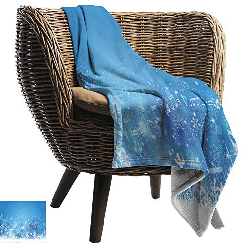 ZSUO bont gooien deken winter, blokhutten in de bergen Zonnige Winter Dag Landelijke Scene Vakantie Gezellige Hypoallergene Eenvoudig te dragen Deken