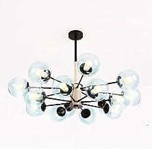 ZRABCD Lamp Hanglamp Kroonluchter Plafondlamp 16 S Sputnik Moderne Hanger Ing Mid Century Ronde Glazen Globe Armatuur Voor...