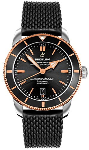 Breitling Watches Breitling Superocean Heritage II Automatic Chronometer Black Dial Men's Watch