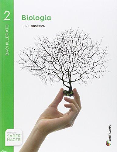BIOLOGÍA SERIE OBSERVA 2 BTO SABER HACER - 9788414101933