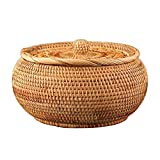 Wicker Bread Baskets for Serving, 9