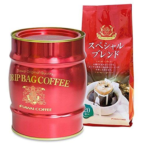 澤井珈琲 コーヒー専門店 樽缶ドリップバッグ ギフト セット 赤樽缶