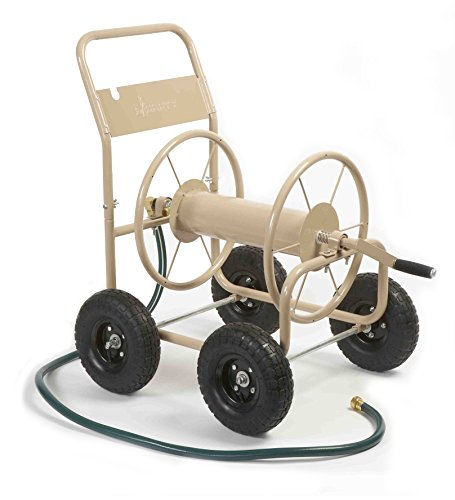 Liberty Garden 870-M1-2 Industrial 4-Wheel Garden Hose Reel...