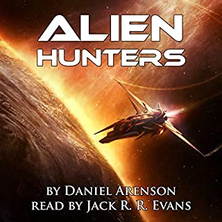 Alien Hunters, Book 1 cover art