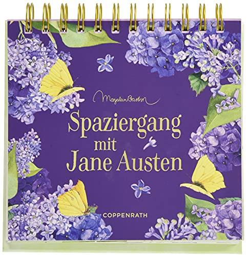 Spaziergang mit Jane Austen (Spiralaufstellbuch)
