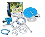 Product Image of the slackers 70 ft Hawk Series Zipline - Kids Zip line Kit with Safety Zipspring...