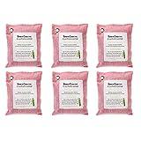 JEJA Sacchetti Deodoranti per La Purificazione dell'Aria al Carbone di bambù, Deodorante per Ambienti al Carbone Attivo, per Frigoriferi E Congelatori Armadio per Auto Scarpe Cucine (Pink,200G X 6)