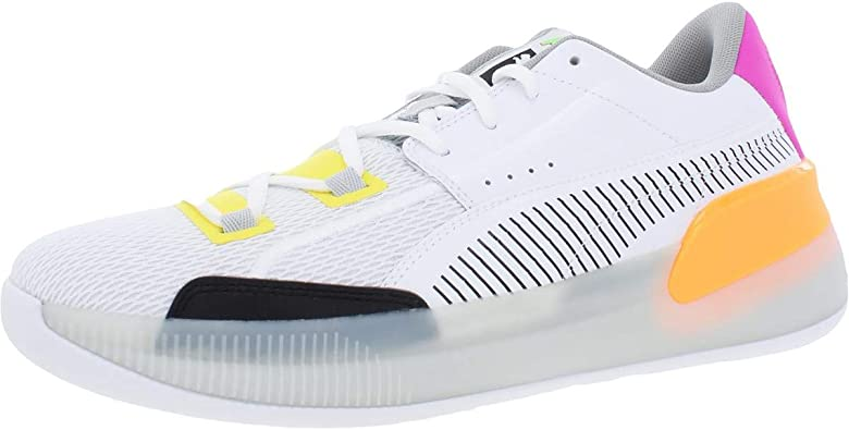 PUMA Mens Clyde Hardwood Athletic Basketball Shoes