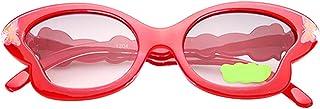 Perfk ベビー用 サングラス 眼鏡 夏用サングラス 女の子 UV400 かわいい ちょうのスタイル