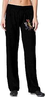Zootopia Casual Cotton Sweatpants For Woman Black