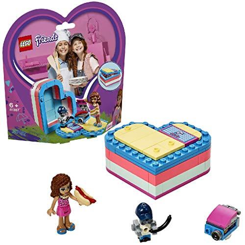 LEGO 41387 Friends La Scatola del Cuore dell Estate di Olivia (Ritirato dal Produttore)