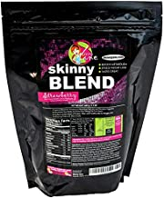 Skinny Blend - Best Tasting Protein Shake for Women - Slim Fast Weight Loss Shakes - Meal Replacement - Low Carb Breakfast - Diet Supplement - Appetite Suppressant - 30 Delicious Shakes - Strawberry