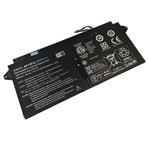 7xinbox 7.4V 35Wh 4680mAh AP12F3J Batteria di Ricambio per Acer Aspire 13.3 inch S7-391 Ultrabook Series 2ICP3/65/114-2