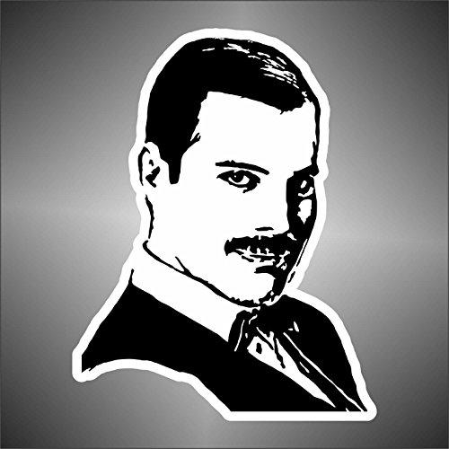 Autocollant Queen Freddie Mercury hip hop rap jazz hard rock pop funk sticker