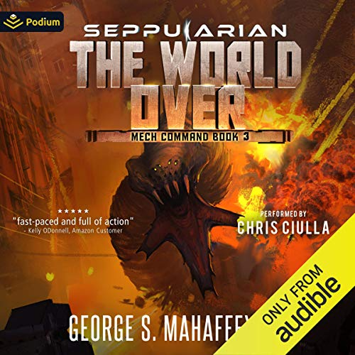 The World Over audiobook cover art