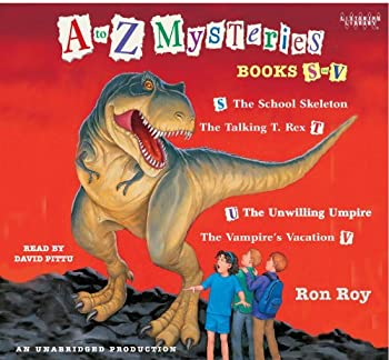 A to Z Mysteries: Books S to V 0307746399 Book Cover