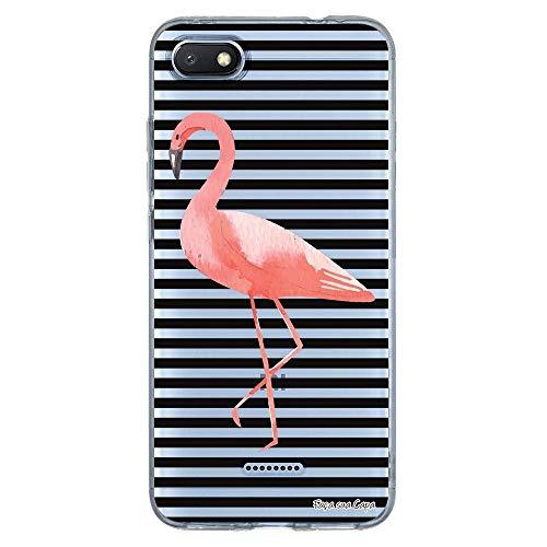 Capa Personalizada Xiaomi Redmi 6A - Flamingos - TP317