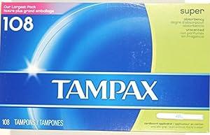 Tampax Cardboard Applicator Tampons