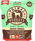 Primal Pet Foods 850010 Canine Chicken Nuggets, 3-Pound