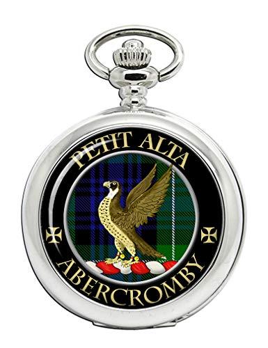 Abercromby Taschenuhr mit schottischem Clan-Wappen