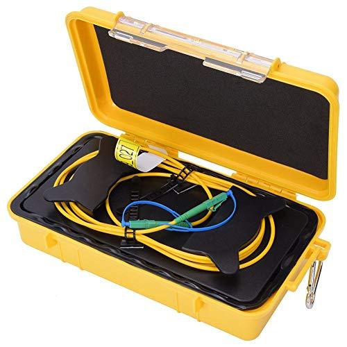 OTDR glasvezel verlengkabel box, 500 m singlemode-LC, APC-LC, APC-test verlengkabel glasvezel startkabel, OTDR-Dead-Zone-Eliminator-glasvezel box
