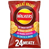 Walkers Crisps Variety Meaty FAMILY 24 x 25g