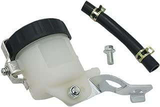Lefossi Motorcycle Front Brake Master Cylinder Brake Pump Tank Oil Cup Fluid Bottle Reservoir w/Bracket For Suzuki GSXR 600 1997-2005 GSXR 750 2000-2005 GSXR 1000